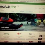 Screenshot der EyewearOne Website