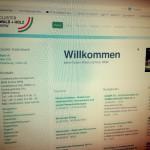 Screenshot der cluster-wald-holz.de